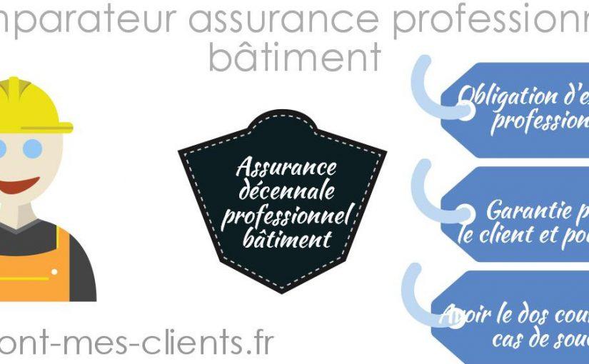 Assurance professionnelle batiment