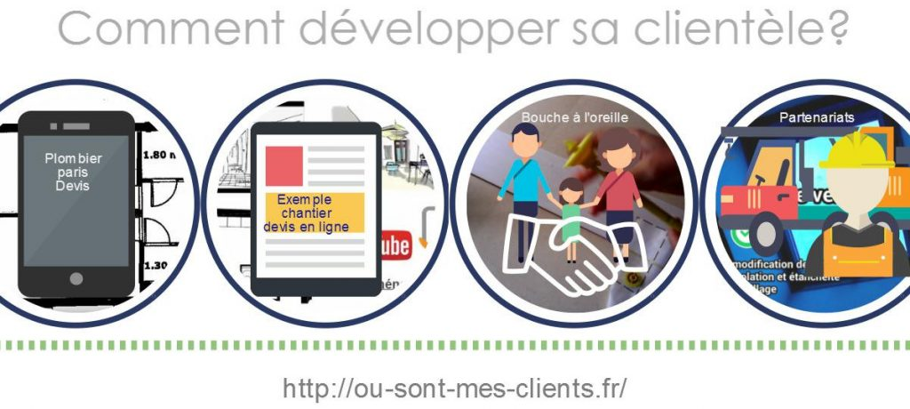comment developper sa clientele