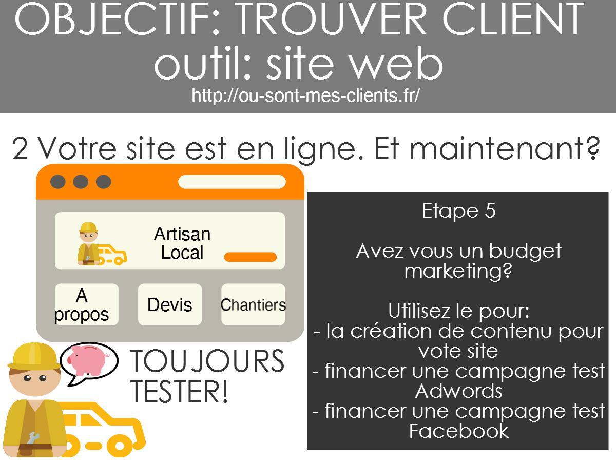 site Internet WordPress artisans