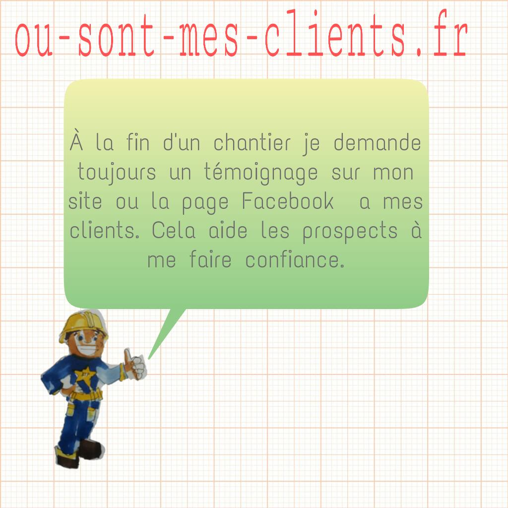 témoignage client artisant btp