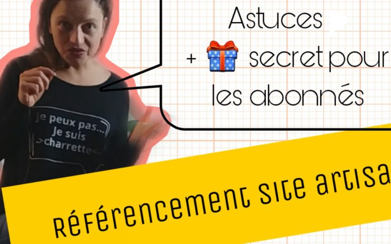 referencement site artisan