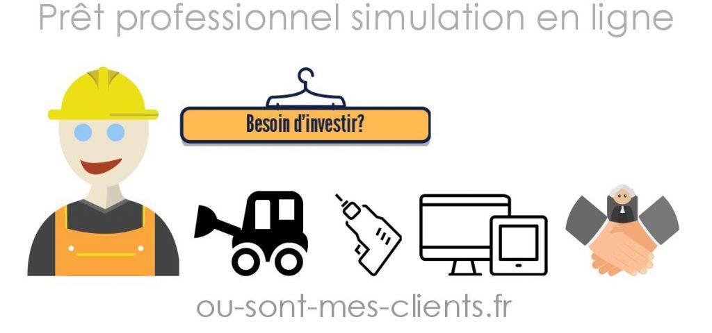 simulation pret professionnel