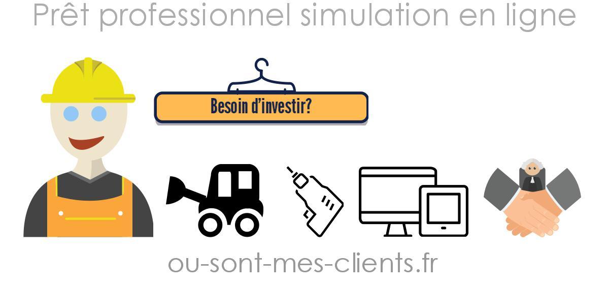 Simulation prêt professionnel - Ou sont mes clients  2ded49b8c1fb