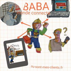 BABA monde connecte