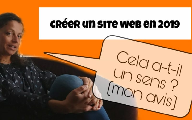 creer un site web en 2019