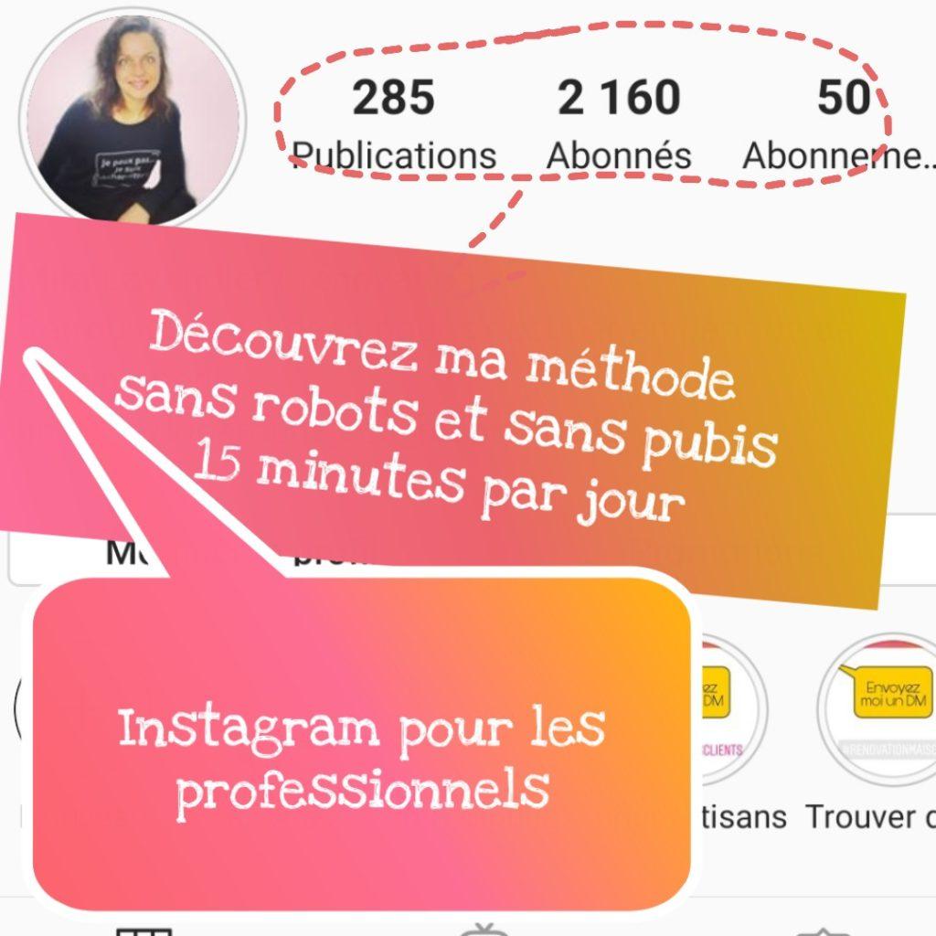 comment atteindre 1000 abonnés sur Instagram