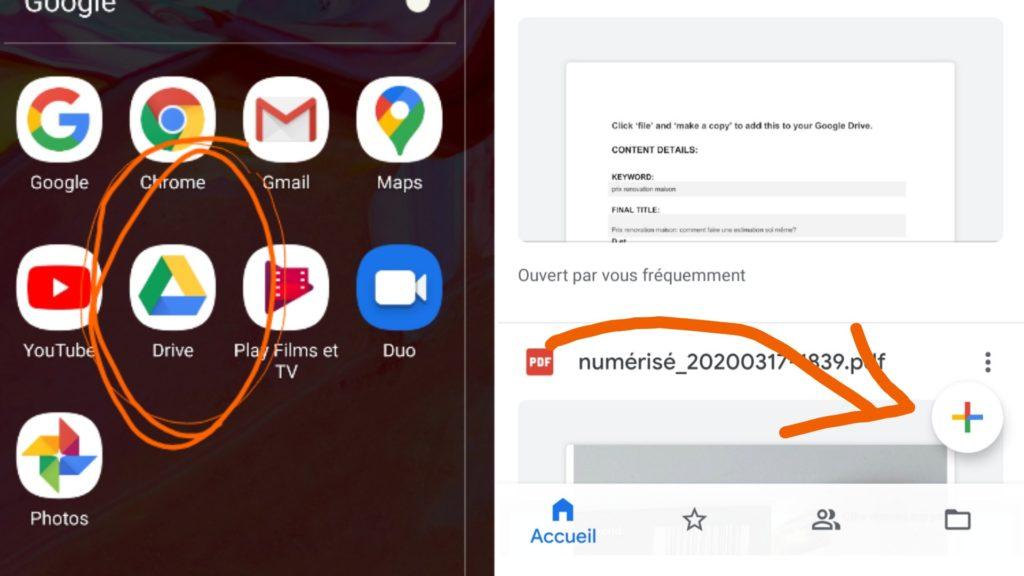 comment scanner et archiver des documents avec un smartphone?