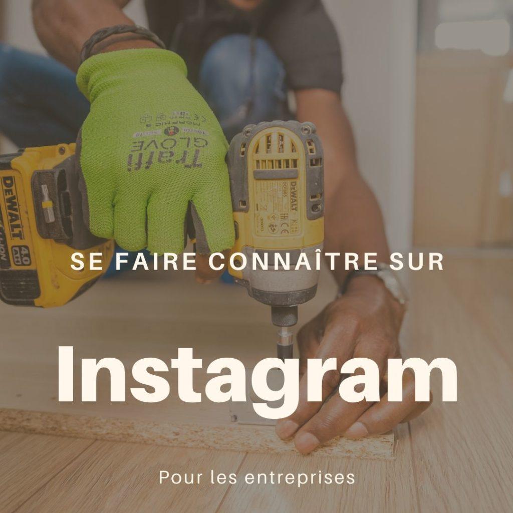 Se faire connaître sur instagram pour les entreprises